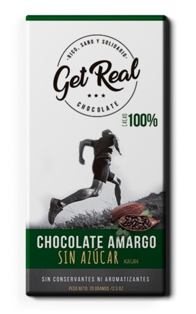 Chocolate amargo 100%