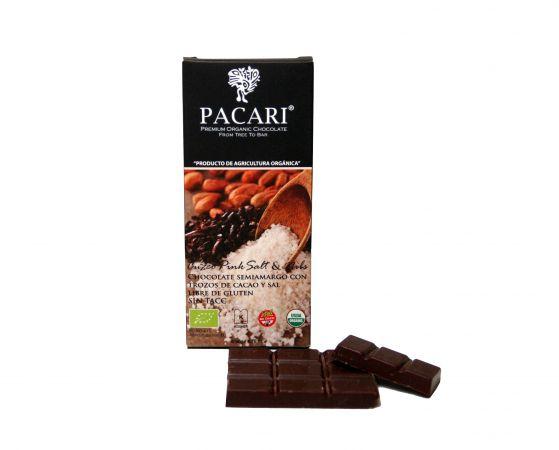 Chocolate barra Salt and Nibs
