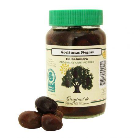 Aceitunas negras 225 gr
