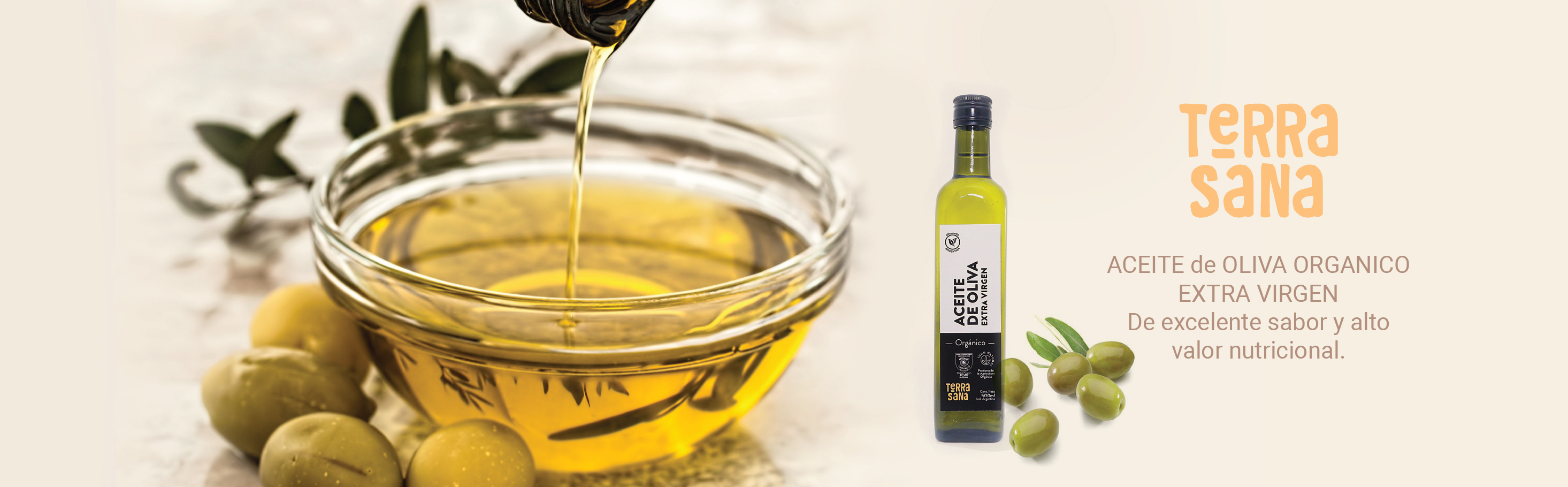 Aceite de oliva orgánico Terrasana